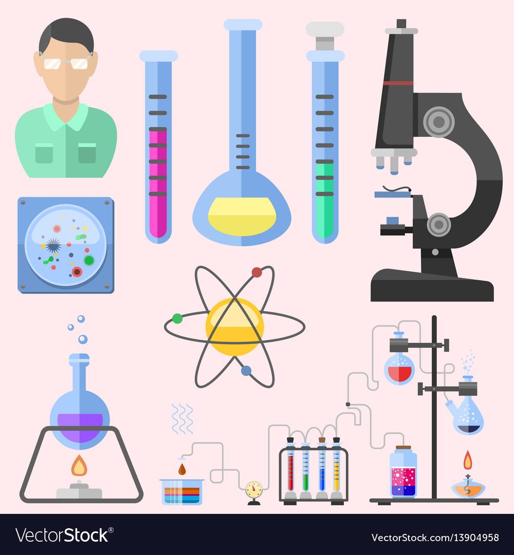 Lab symbols test medical laboratory scientific vector image lab symbols test medical laboratory scientific vector image buycottarizona