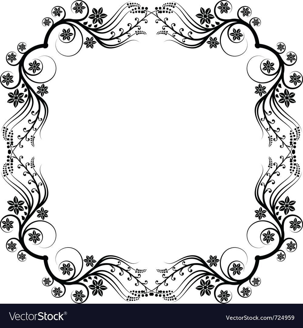 frame ornaments royalty free vector image vectorstock