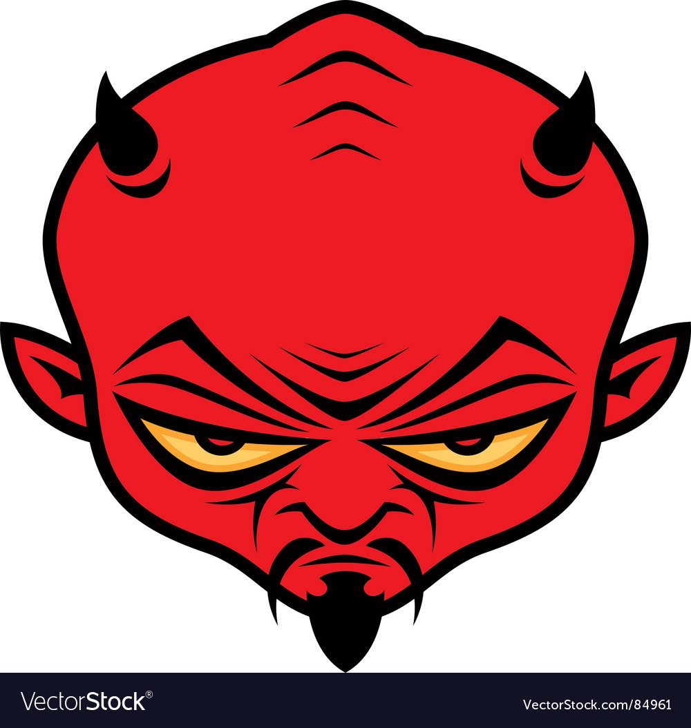 Devil dude vector image
