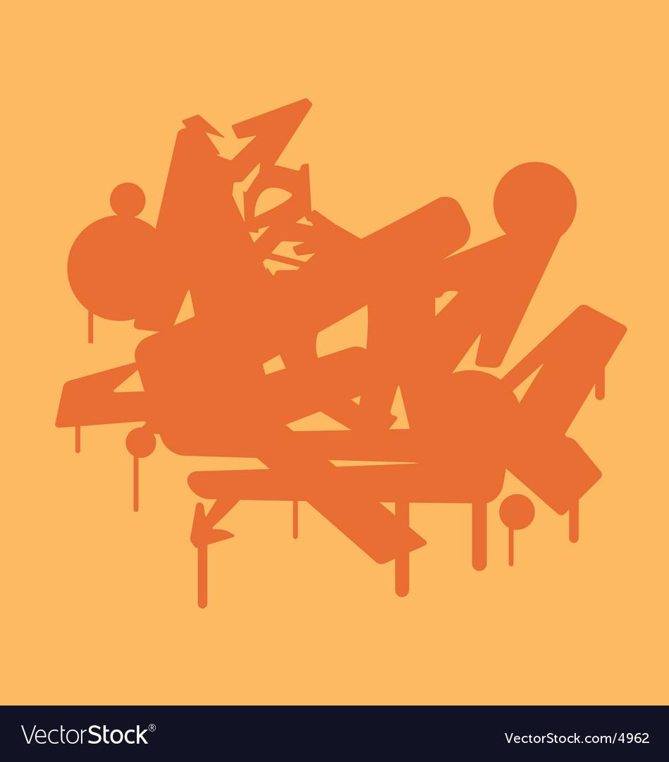 Grafitti vector image