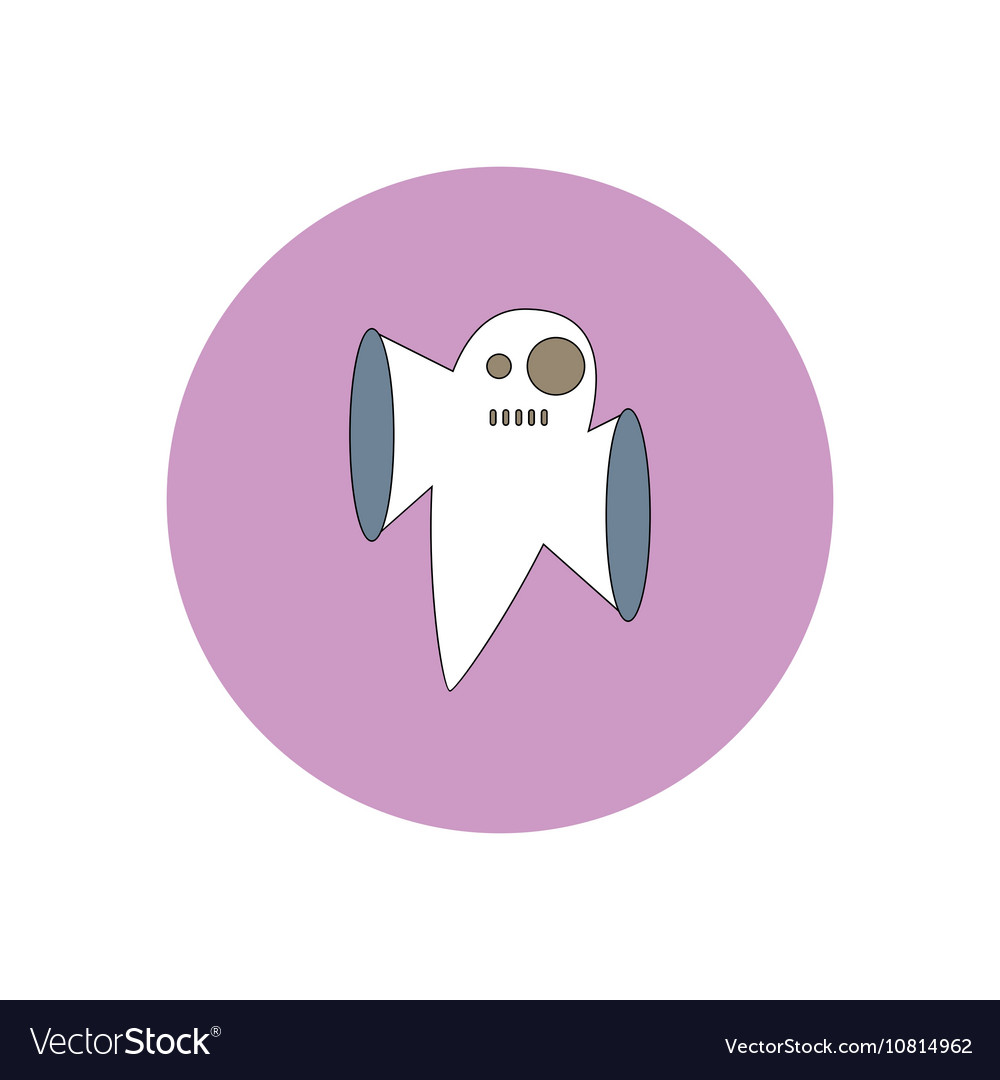 Ghost icon flat
