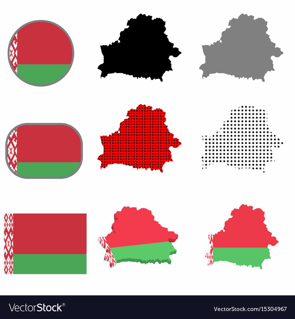 Belarus country vector image