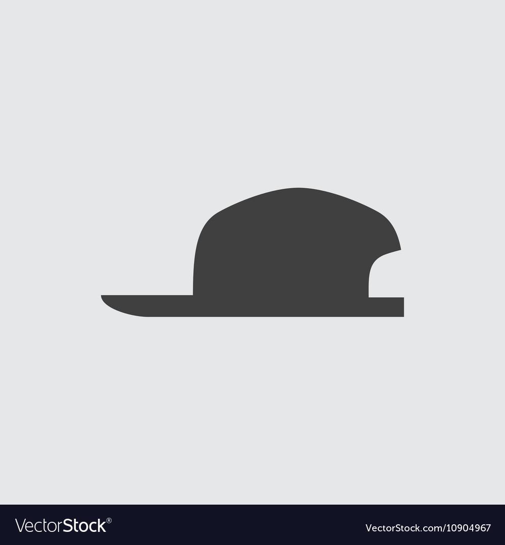 Cap icon vector image