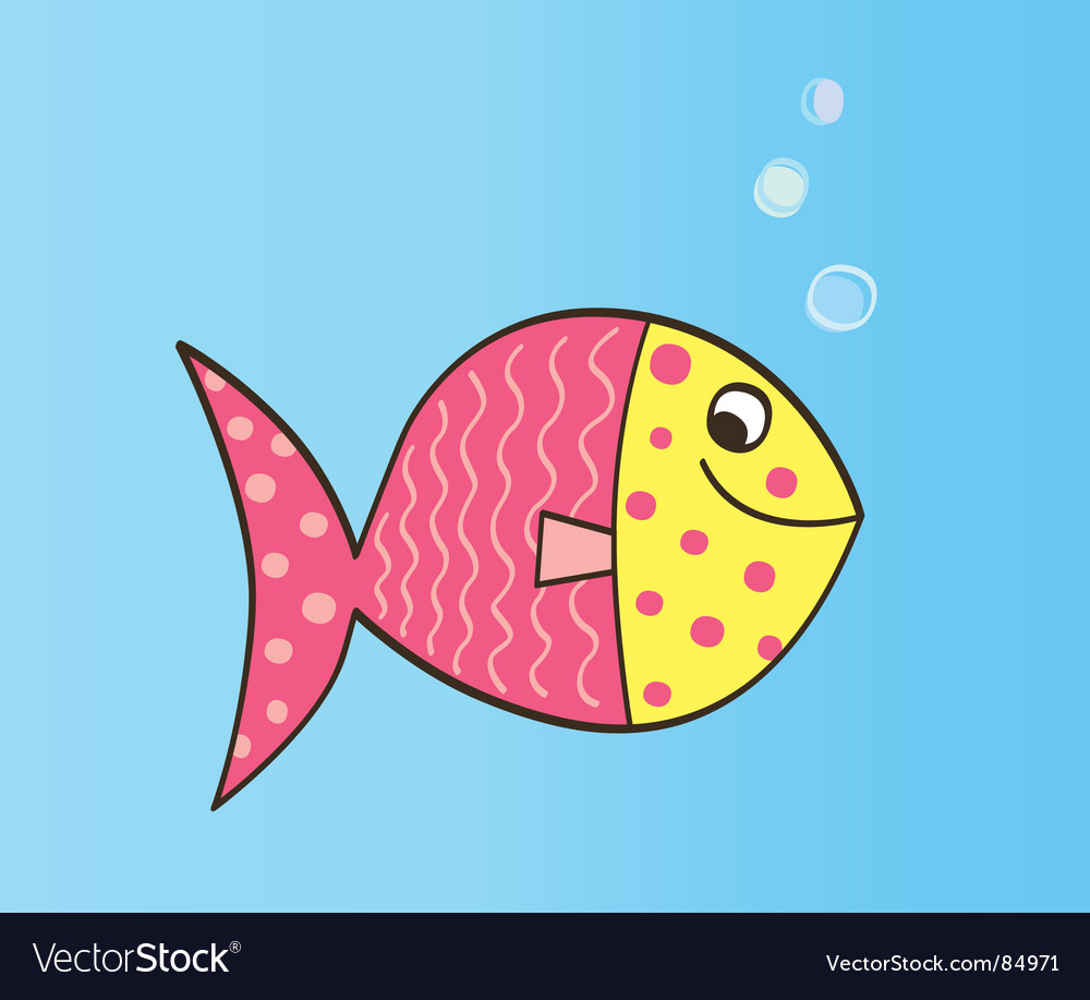 cartoon fish. Cartoon Fish Vector