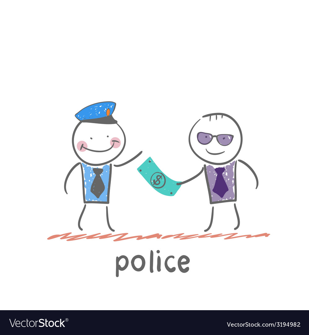 Police vector image