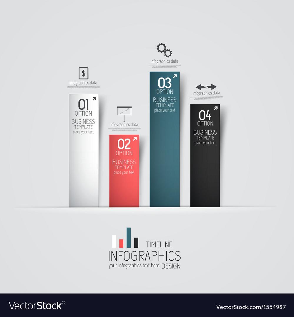 Design infographics 2 Vector Image