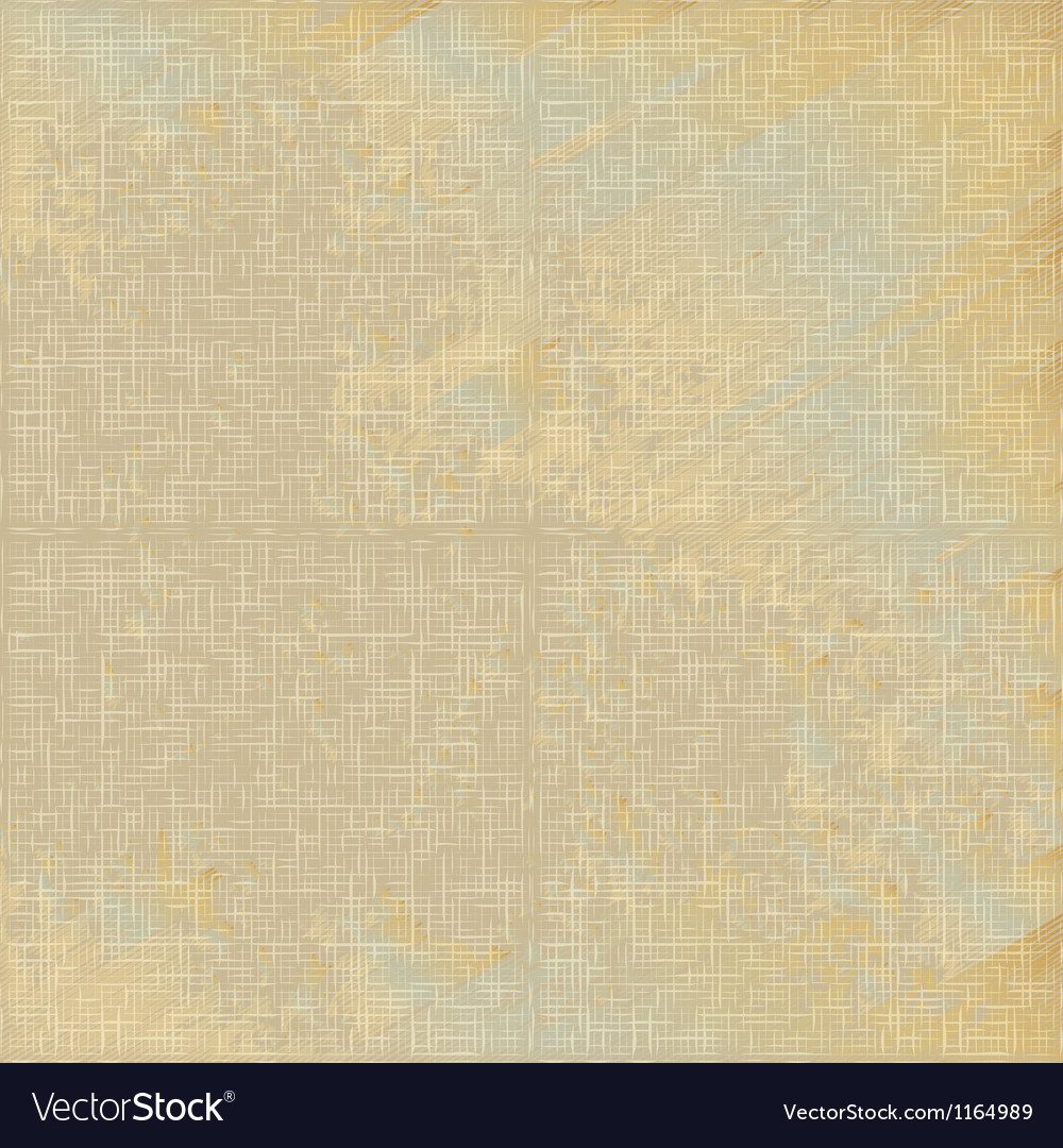 Natural vintage linen seamless pattern vector image