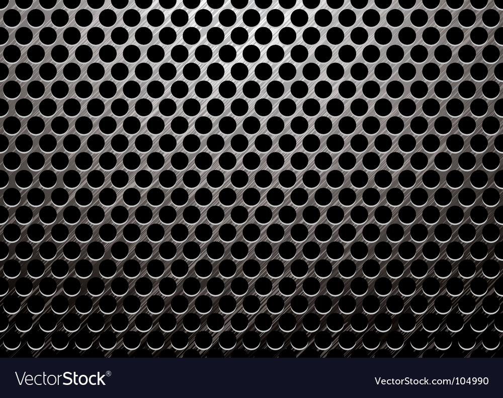 Metalic background vector image
