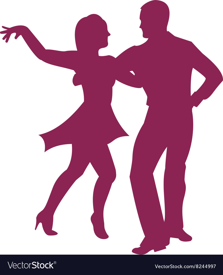 Dancing-Couple-380x400 vector image