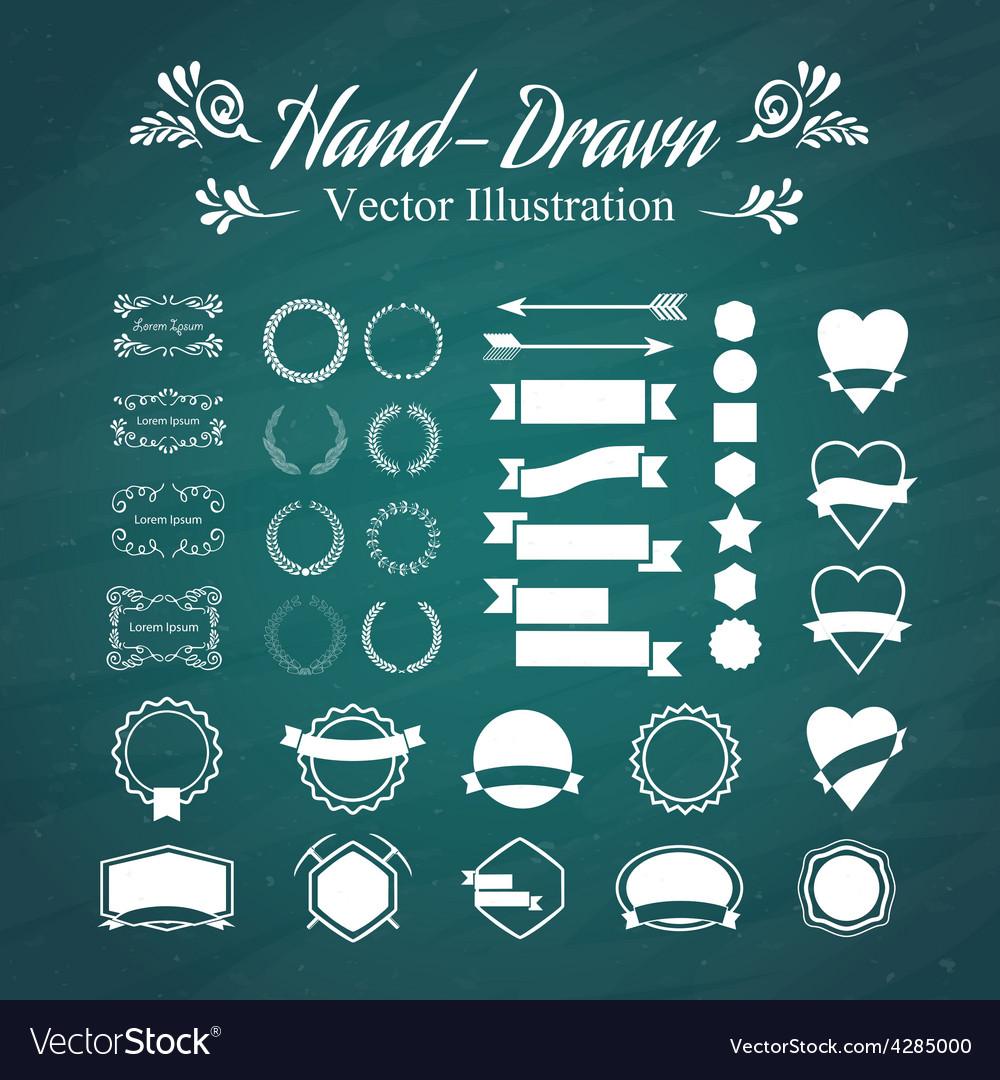 Hand-draw vector image