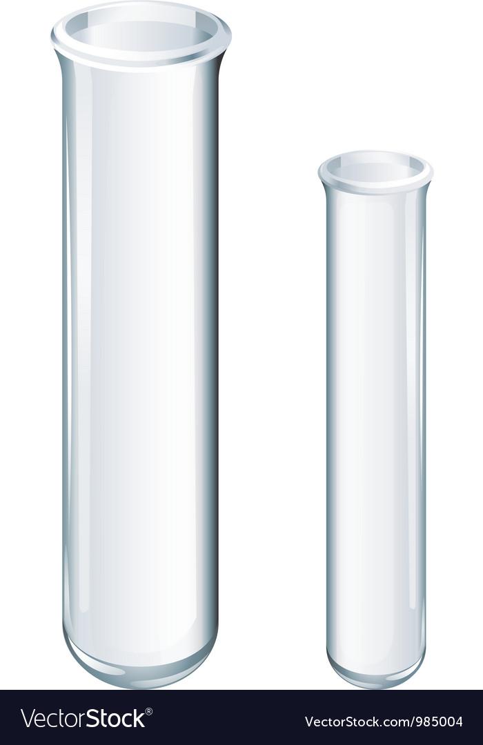Glassware vector image