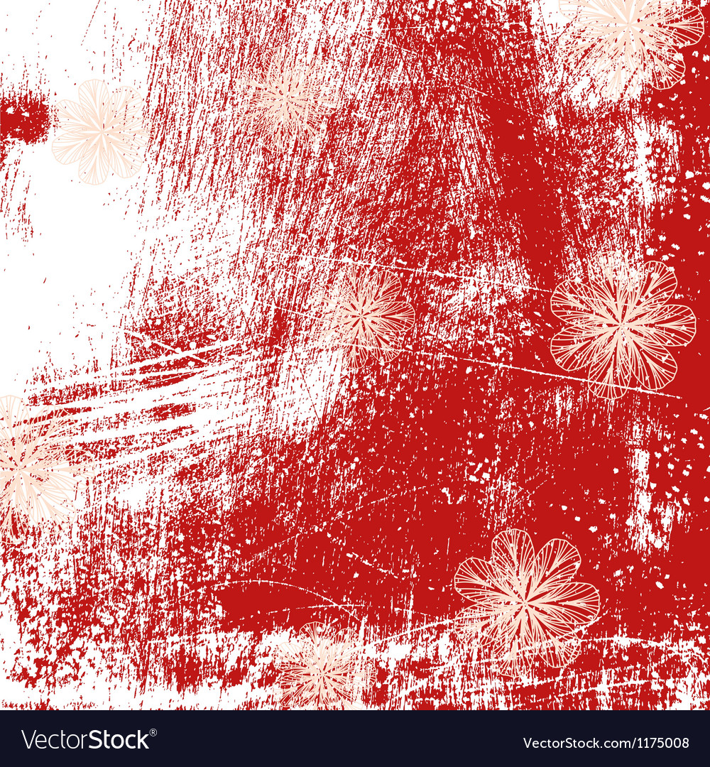 Brushed Grunge Background vector image