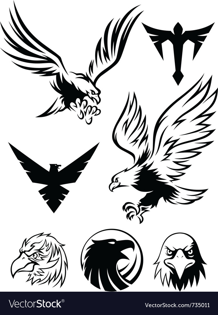 Eagle symbol vector clipart library eagle symbol royalty free vector image vectorstock eagle head symbol vector eagle logo vector png biocorpaavc Gallery