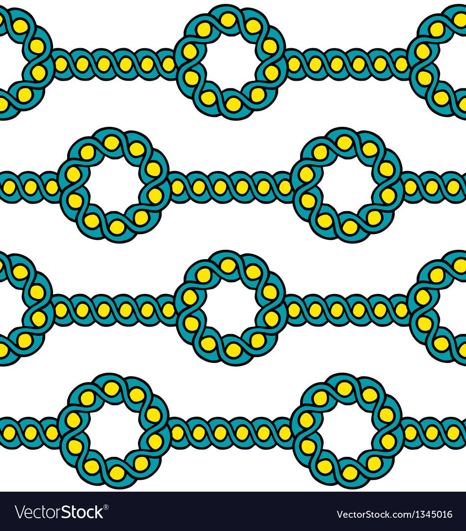 Assyrian pattern vector image