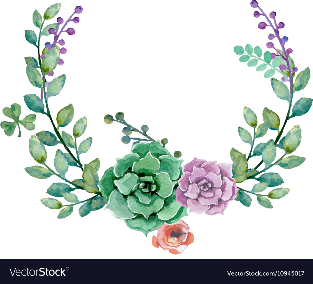 Flower wedding decoration royalty free vector image flower wedding decoration vector image junglespirit Image collections