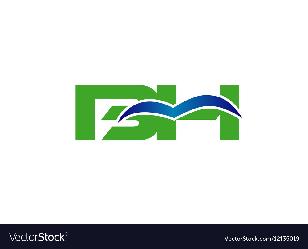 BH logo vector image