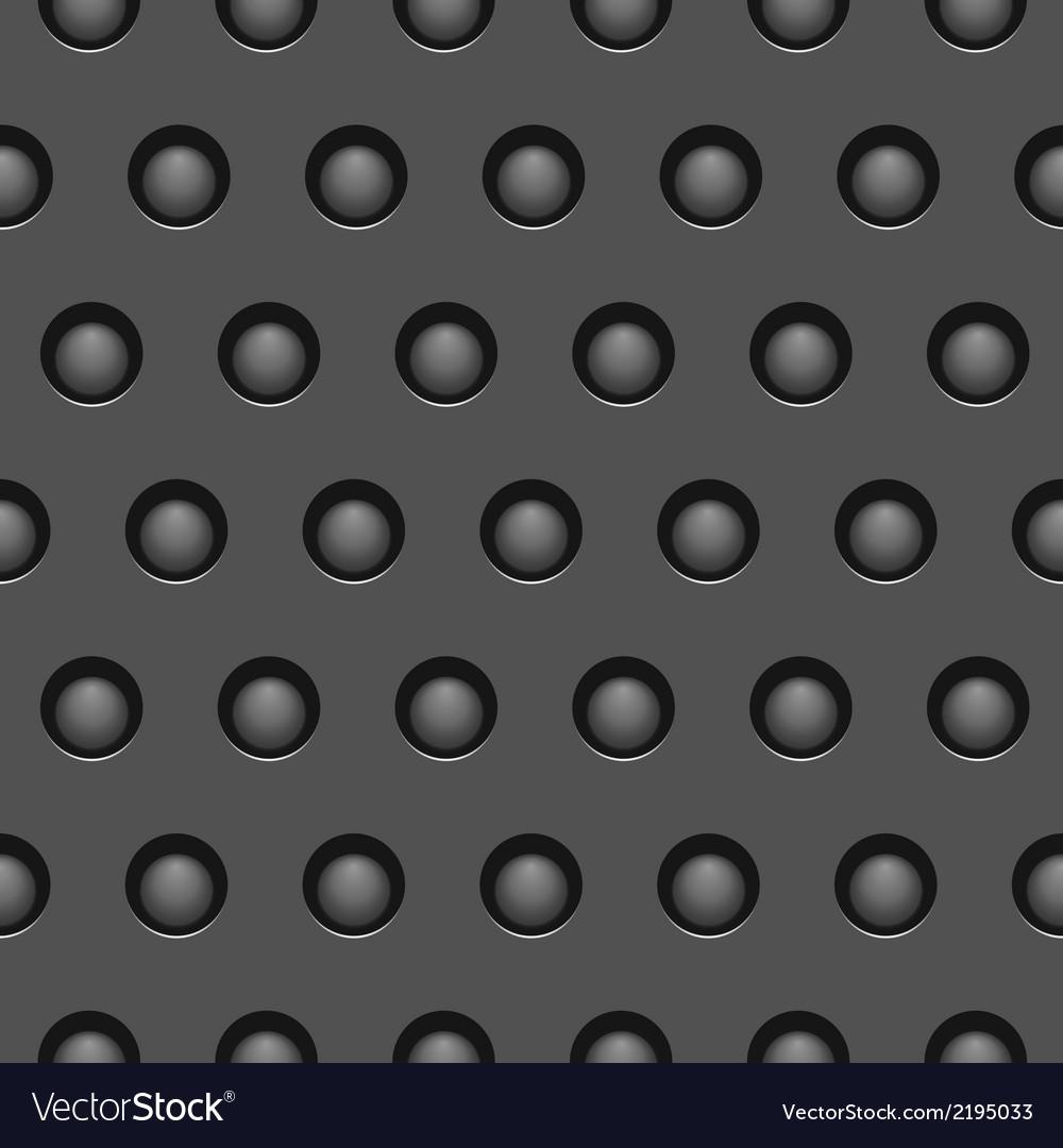 Seamless metallic texture vector image