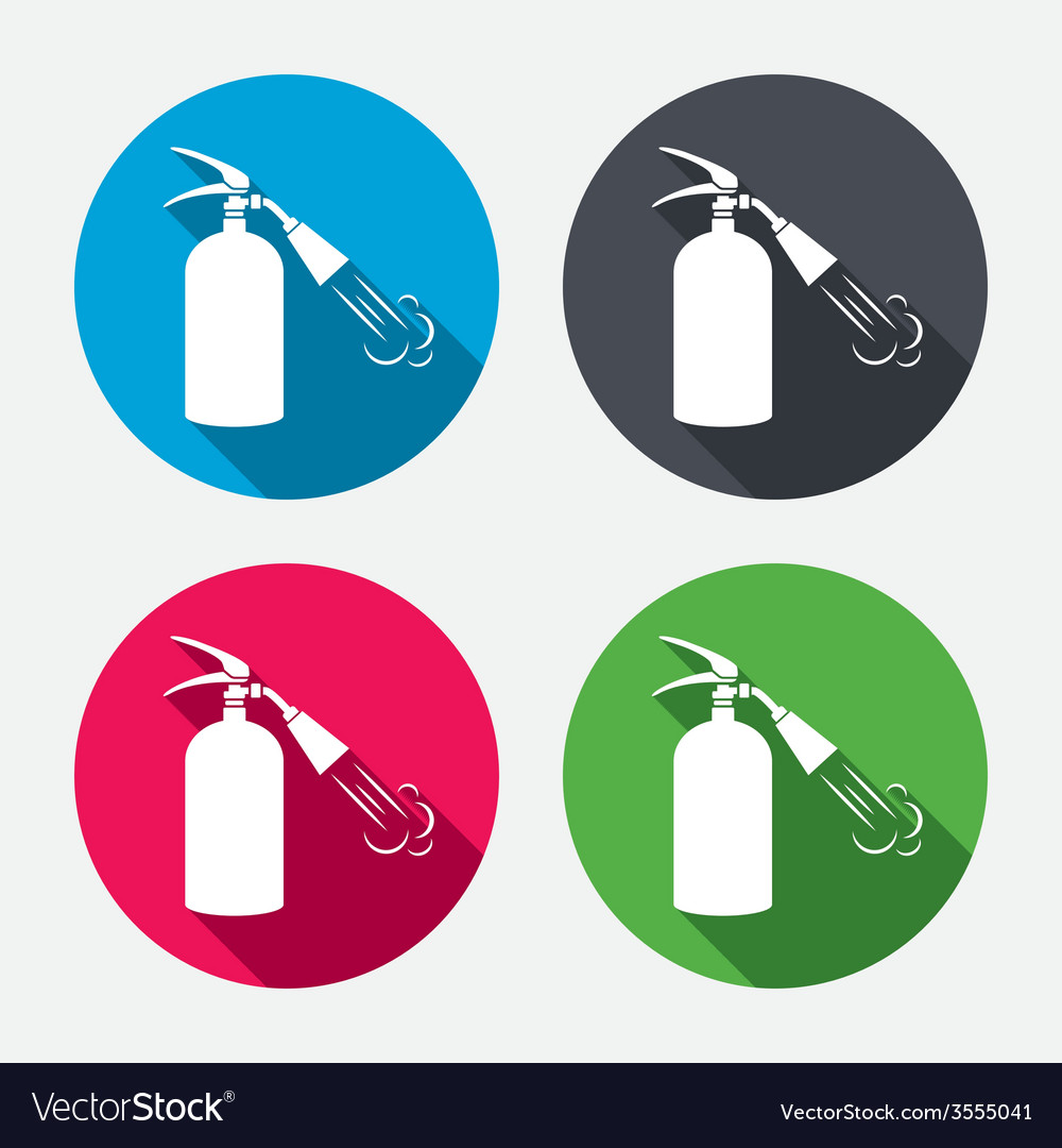 Fire extinguisher sign icon fire safety symbol vector image fire extinguisher sign icon fire safety symbol vector image buycottarizona