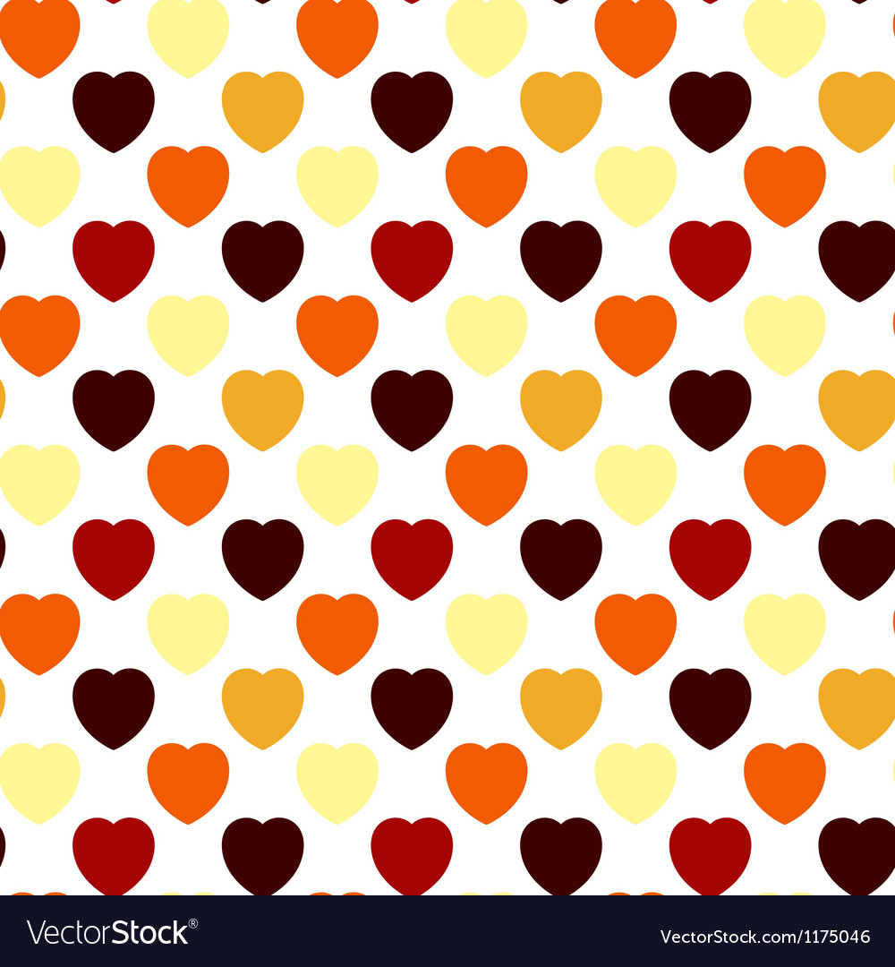Valentine Seamless Background vector image