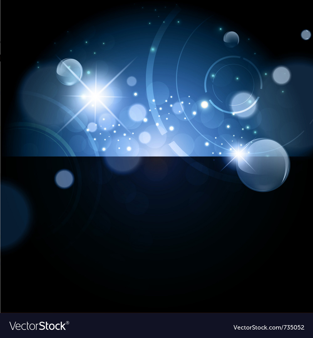 Abstract bright galaxy background vector image