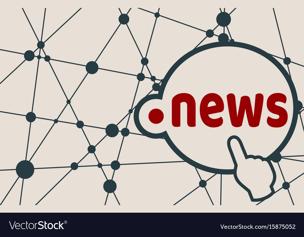 Domain names concept vector image