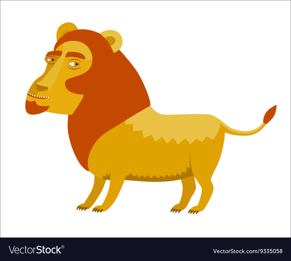 Lion Dodo collection vector image