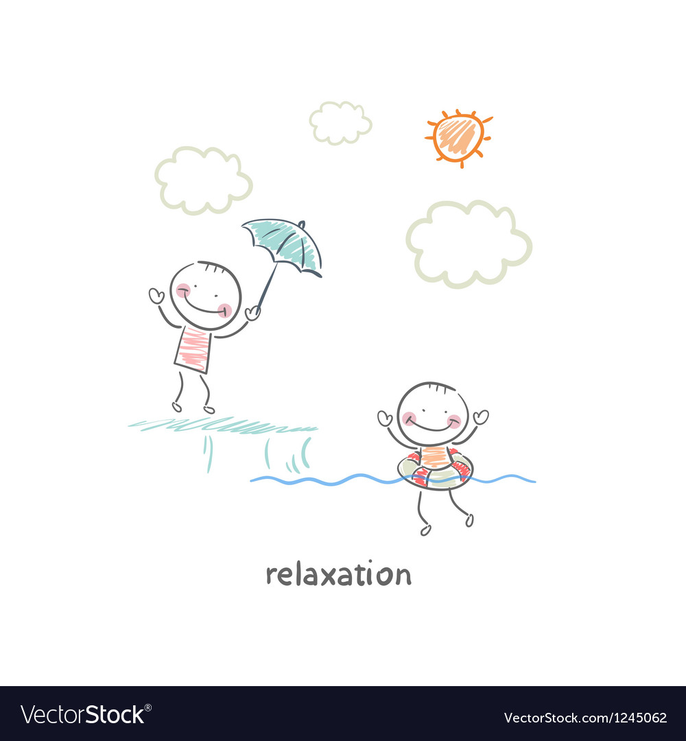 Relaxation vector image