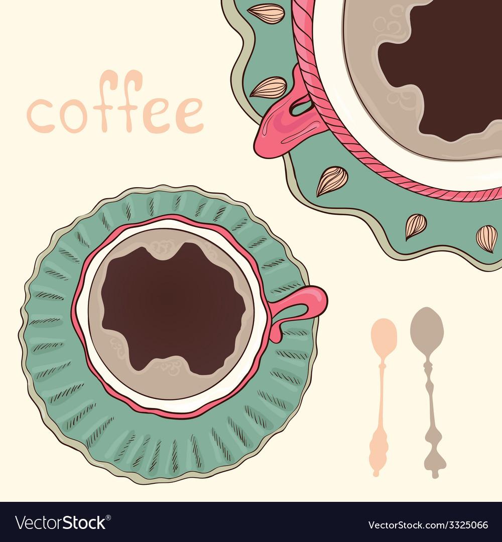 Breakfastt8 vector image