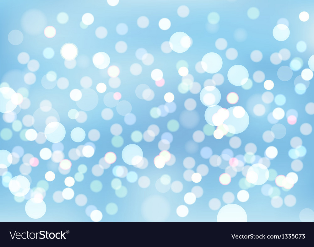 Blurry lights background vector image