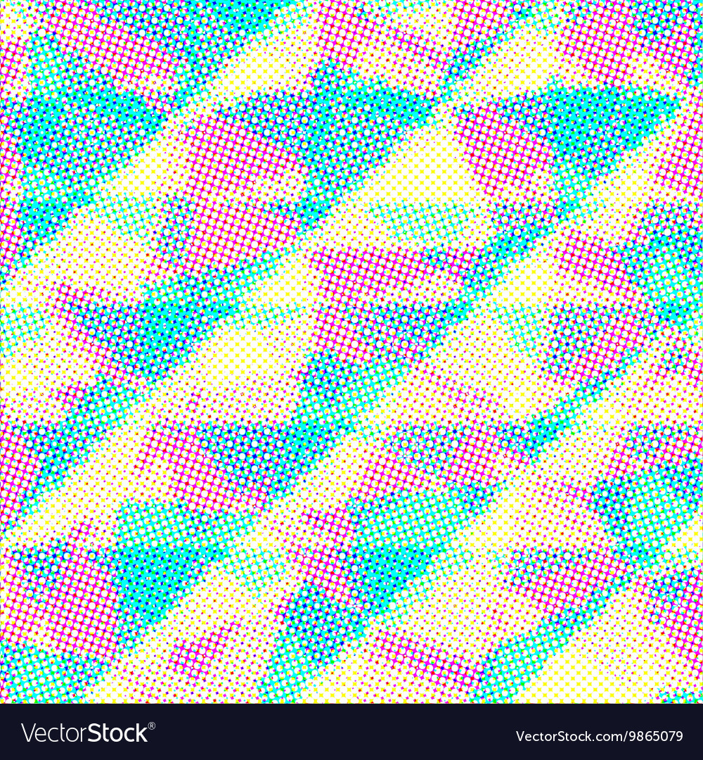 Grunge halftone dots texture background vector image