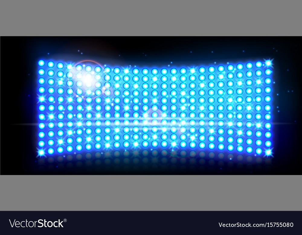 Abstract blue wall of light background vector image