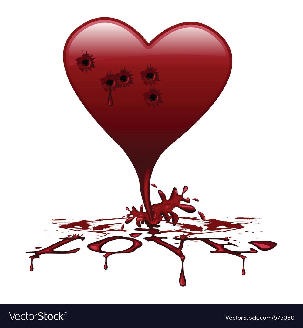 Bleeding heart royalty free vector image vectorstock bleeding heart vector image buycottarizona