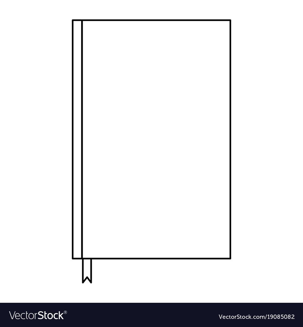 plain bookmark template