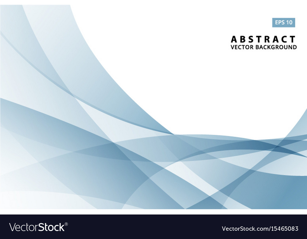 Abstract of modern light blue wave vector image