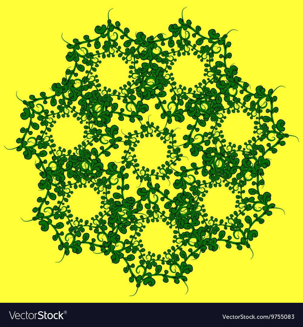 The pattern of grass vector image