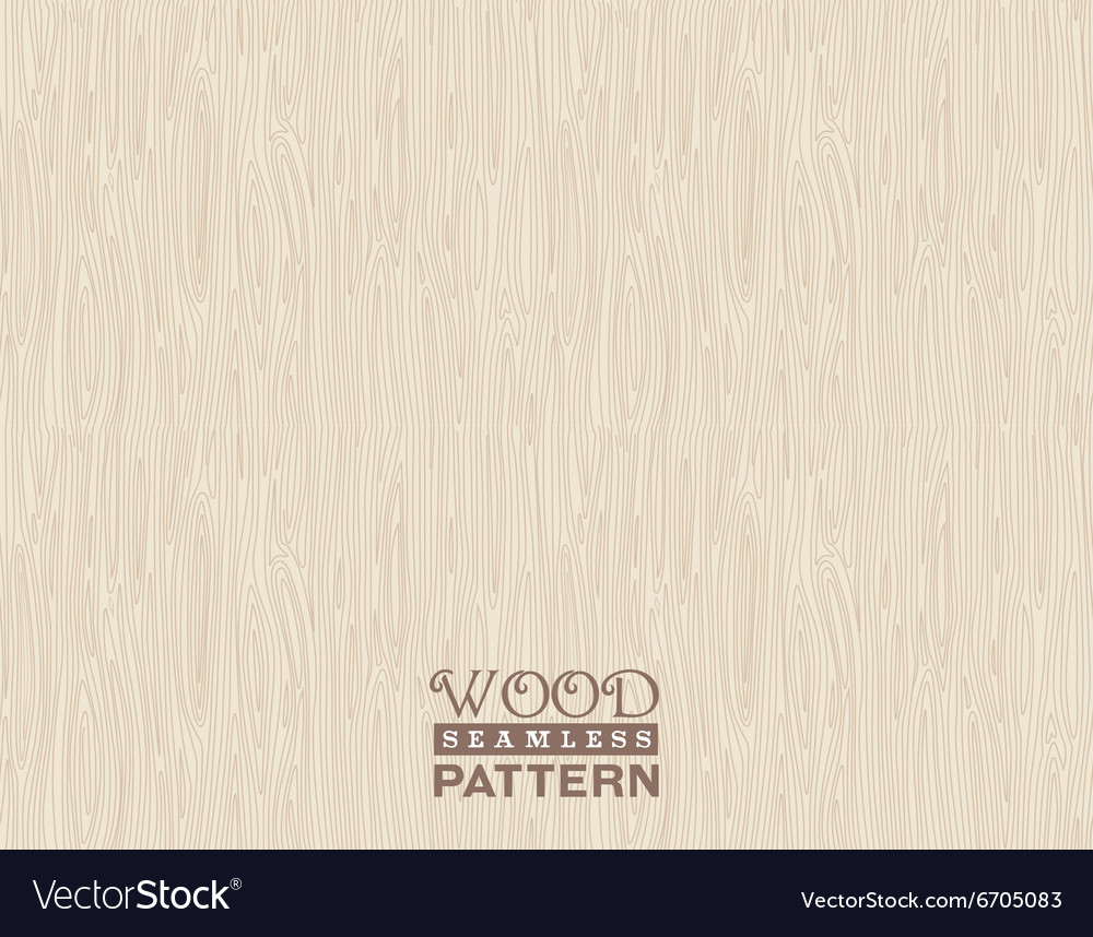 Wood pattern seamless vector image