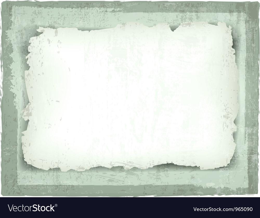 Burned paper vector image