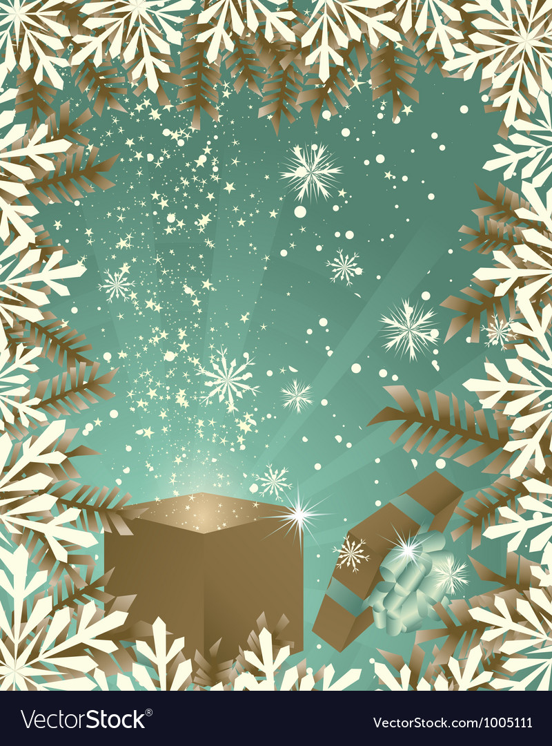 Christmas vector image