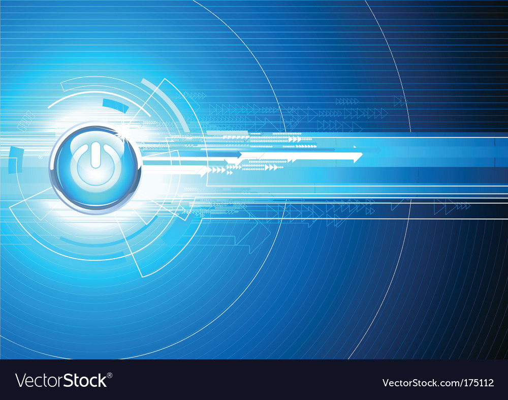Futuristic Hi Tech Background Vector: Hi-tech Background Royalty Free Vector Image