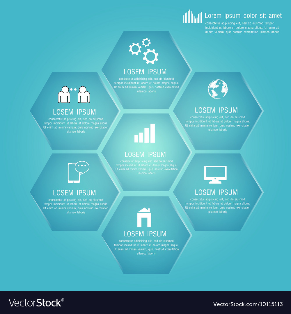 Polygon For Business Plan Design Template For Your - Business plan design template
