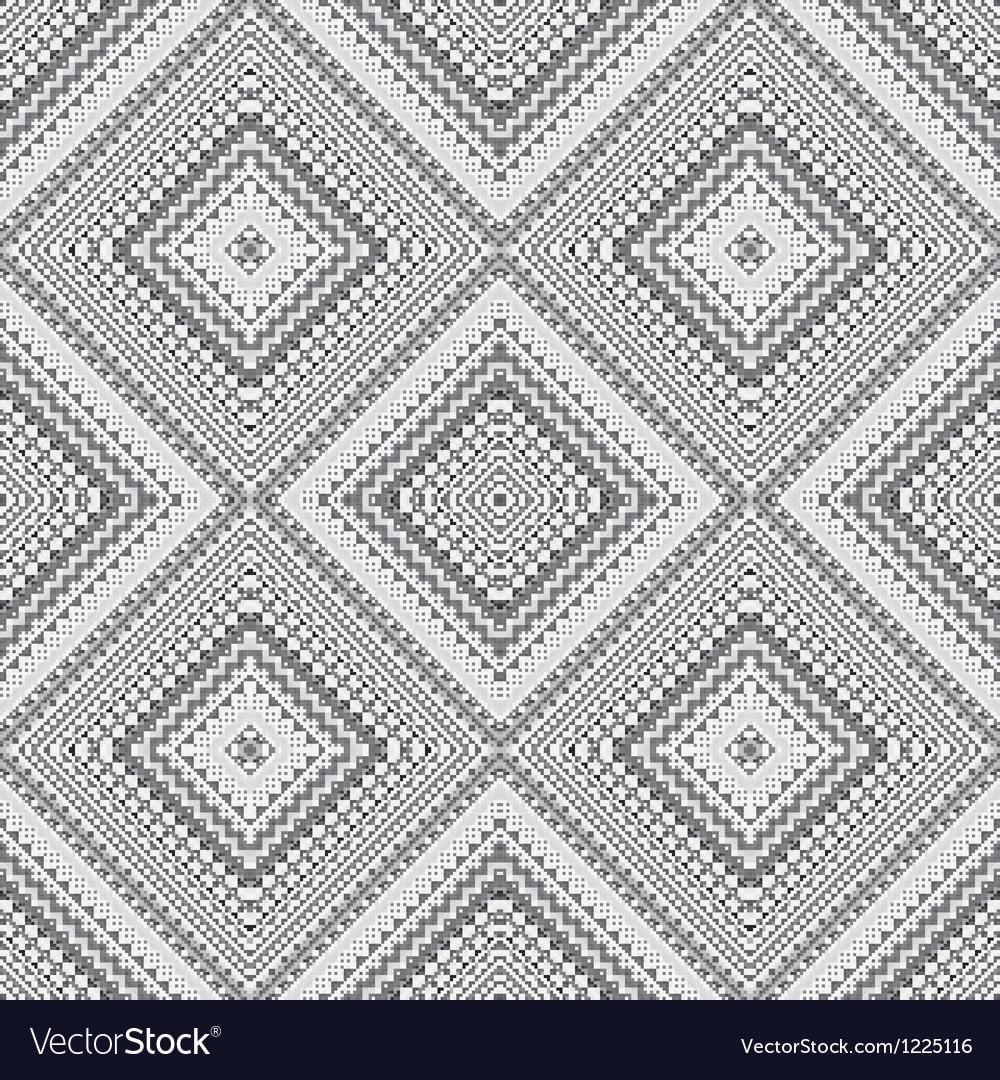 Pixels pattern vector image