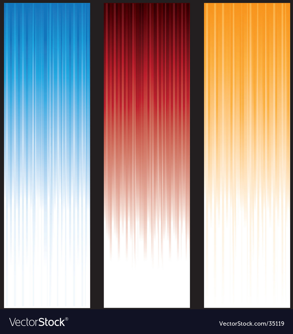 Vertical-lines-banners Vector Image