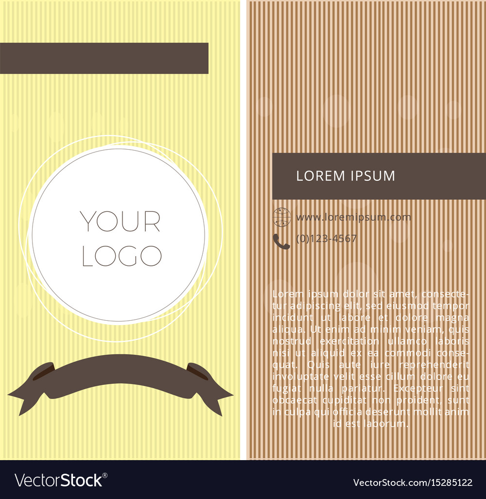 Textured business card Royalty Free Vector Image