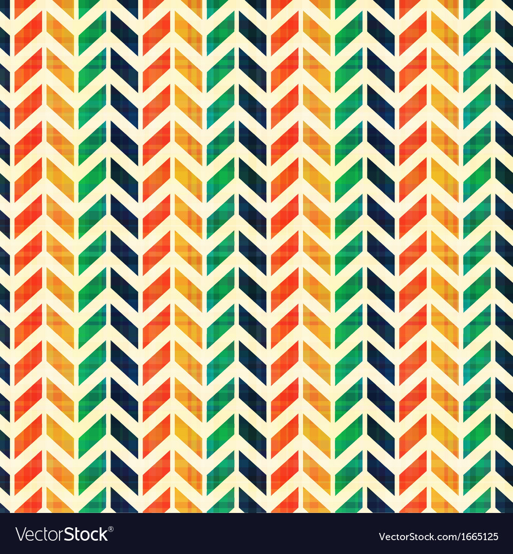 Seamless geometric herringbone pattern vector image