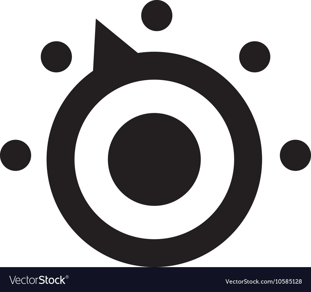 Thermostat Icon vector image