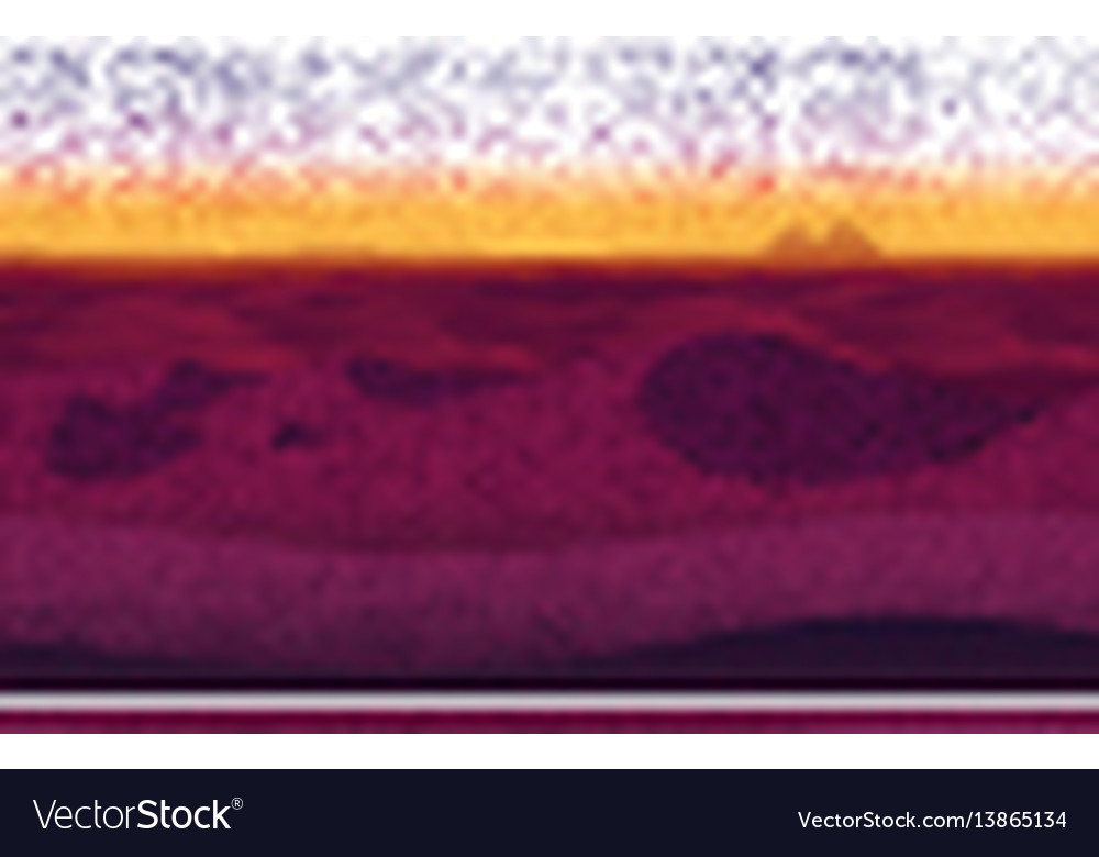 Horizontal seamless background with desert vector image