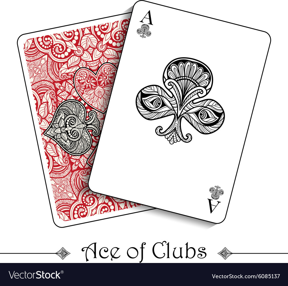 Playing Cards Concept vector image