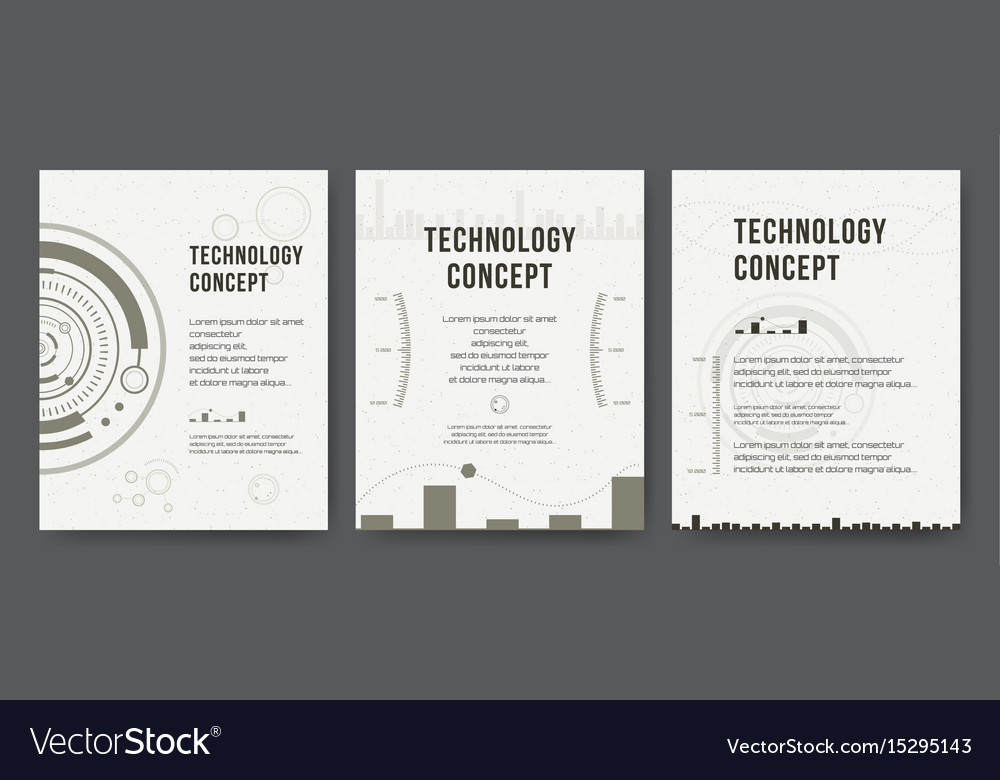 Business template brochure design cover modern vector image