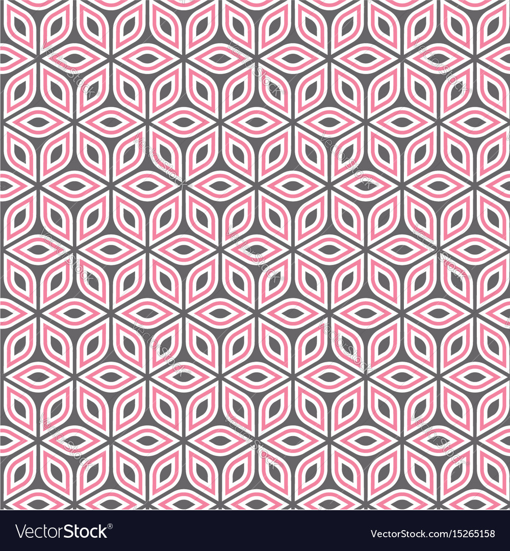 Abstract isometric pattern vector image