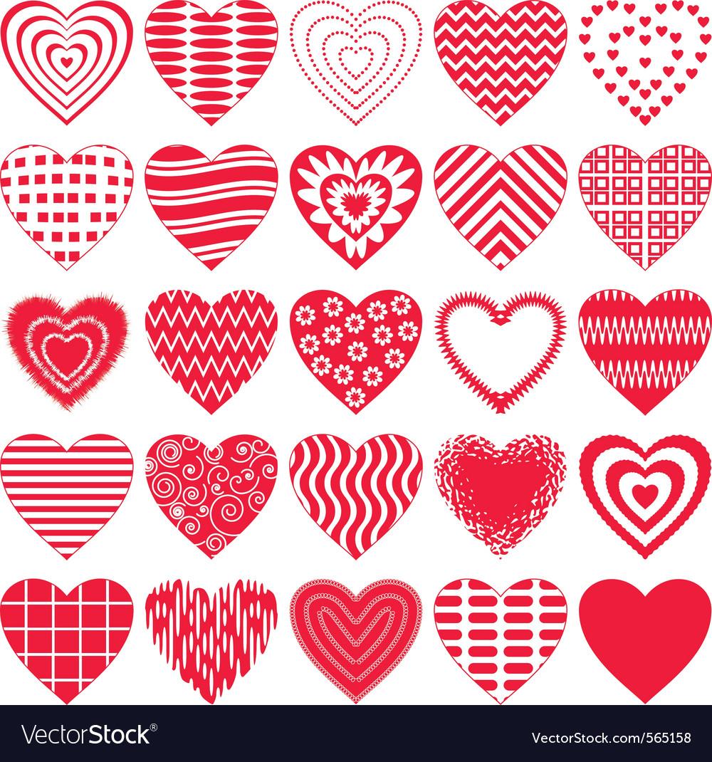 Valentine Hearts Vector ...